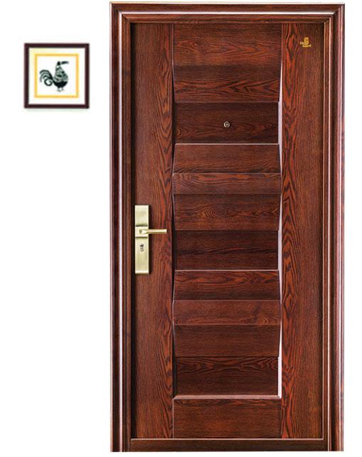 Glo guard security steel doors for Nameplate for home main door